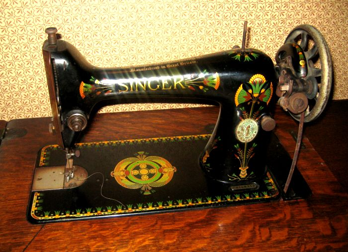 40 Antique Singer Sewing Machine Made In Scotland Cool Value Of Singer Sewing Machine With Serial Number